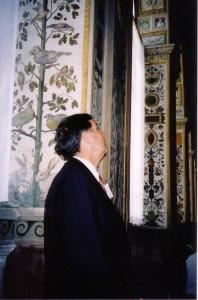 Vatican - artwork in the Apostolic Palace