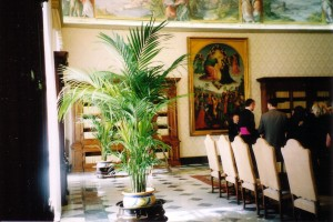 Vatican - inside the papal office