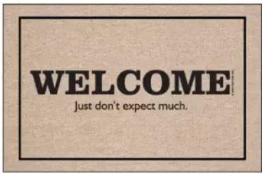 Amazon welcome mat 4