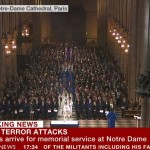 Live Now on the BBC: Memorial Service at Notre Dame