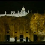 Pope Francis' Fish and Monkey Basilica; Obama's Rainbow White House