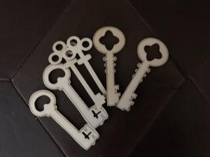 Super inexpensive unfinished wood keys