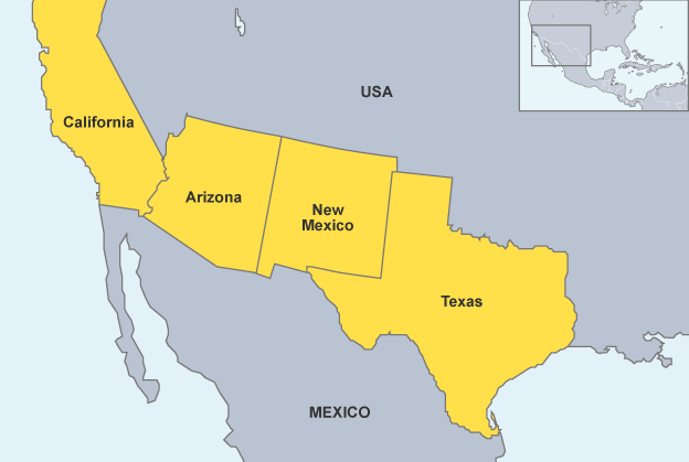 Trumps Wall Will Be A Miniature Compared To The Size Of Babylons - Map of us mexico wall