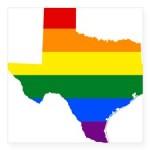 rainbow_pride_flag_texas_map_square_sticker_3_x_3