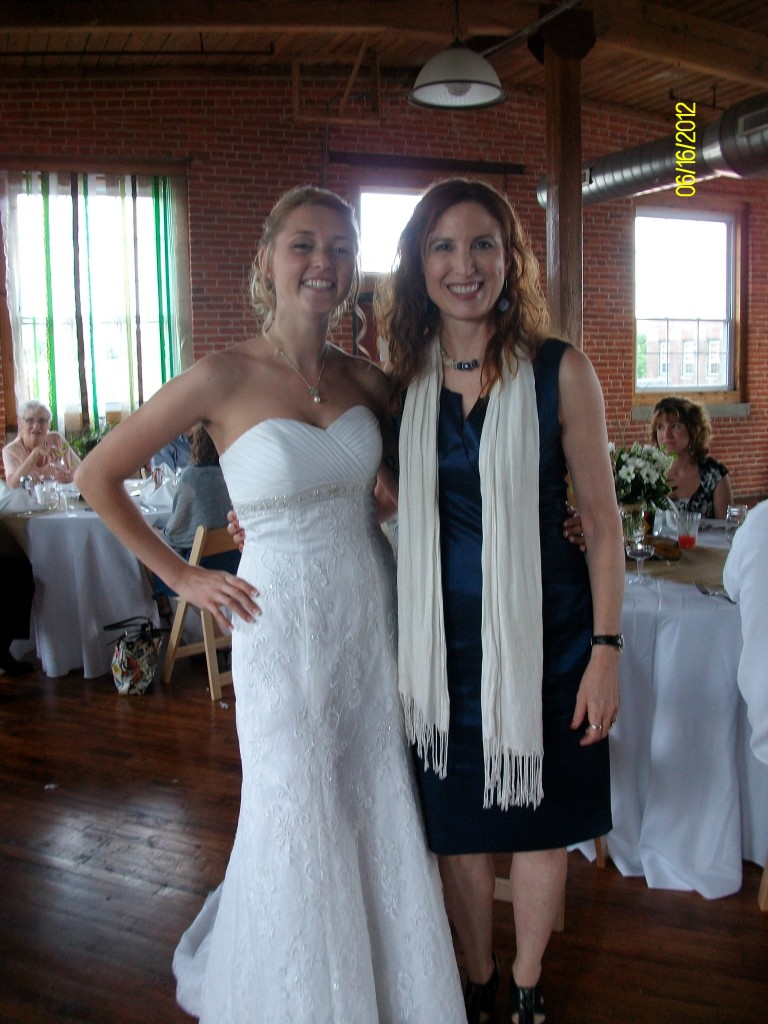 Katie and Alyce after Wedding