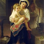 William-Adolphe_Bouguereau_(1825-1905)_-_Young_Mother_Gazing_At_Her_Child_(1871)