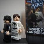 Mistborn LEGO Minifigures Vin and Elend Venture