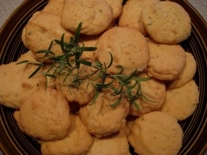 Rosemary-cookies