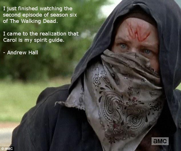 Rambo Carol: 'The Walking Dead' Memes — Season 5 Premiere ...