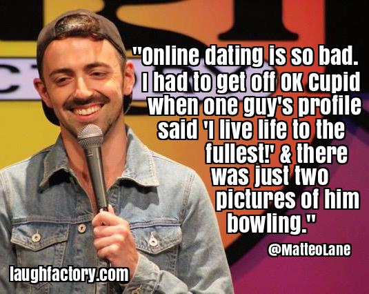 Online dating profile jokes 12