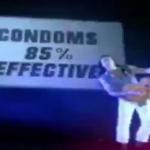 Michael Sweet condoms 85% effective