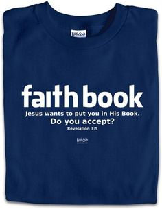 Faithbook: Jesus wants to put you in His Book. Do you accept?