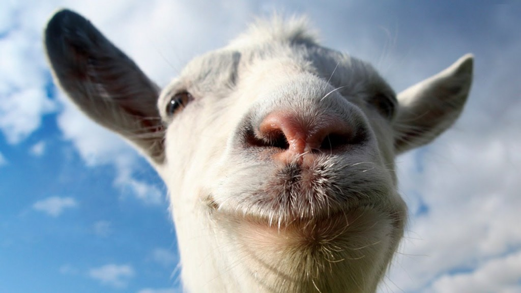Behold, the goat that taketh away the sins of the world.