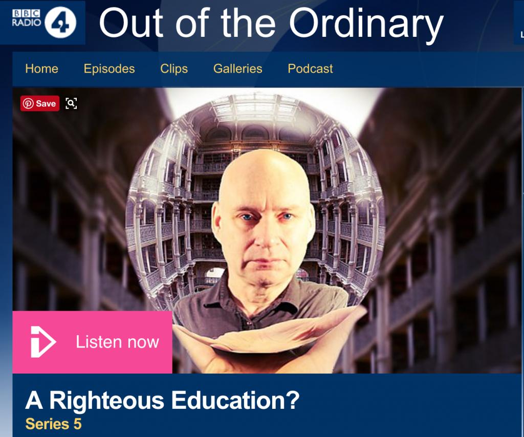 Screenshot from BBC website
