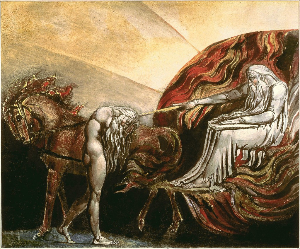 God Judging Adam, William Blake, 1795