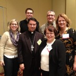 Catholic Bloggers with Bishop Oscar Cantú