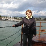 Lisa on the Sea of Galilee