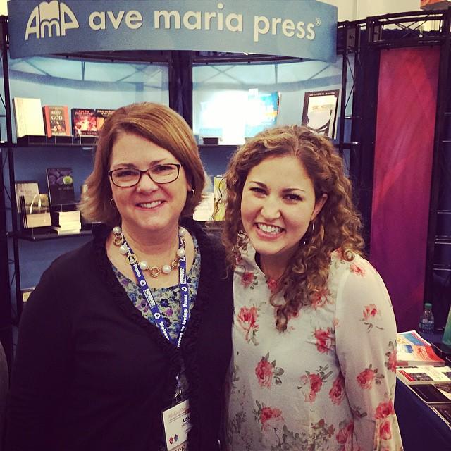 With my dear friend Kara Klein (@KaraKleinMusic) at #UDMC2014