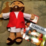 My New Buddy: Plush Jesus from @LoyolaPress