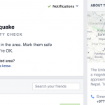 Facebook Safety Check Aids with #NepalEarthquake Info Flow