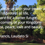 #LaudatoSi and Me
