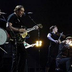 Read it and weep: U2 and Arcade Fire onstage together…