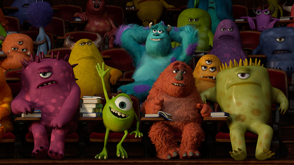 Monsters University: Bonus Question - Are These Monsters ...