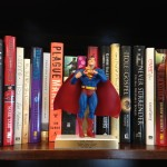 """Some of Lee Hough's many """"trophies"""" from 12+ years as a literary agent."""