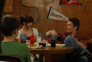 """Mason Sr. bonds with Samantha and Mason Jr. in """"Boyhood."""""""