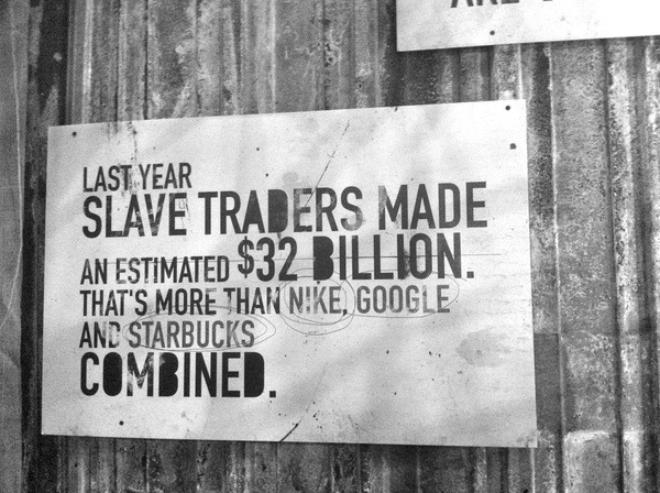 human slavery research paper