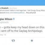 Tweet Doug Wilson