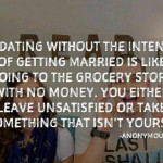 What Do Dating and Grocery Stores Have in Common?