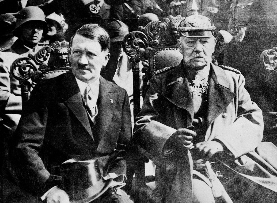 Deutsches Reich Hitlerhidenburglrg
