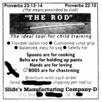 That Christian Man Selling Child-Training Whips Is Back