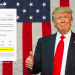 What Trump's Donate Page Says about His Silver Spoon