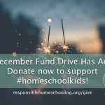 Donate to the Coalition for Responsible Home Education!