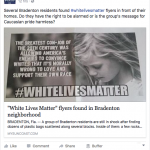 Local Media Punts on White Supremacism
