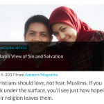 "Answers in Genesis: Islam Leaves Muslims ""Hopeless"""