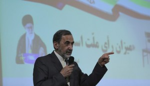 Ali Akbar Velayati, the adviser to the supreme Leader on foreign affairs and a moderate conservative