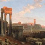 The_Remains_of_the_Roman_Forum_by_David_Roberts