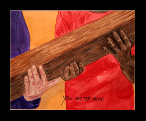 The Stations of the Cross for Lent and Holy Week: The Fourth Station