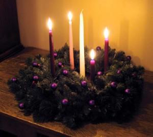 My Advent wreath