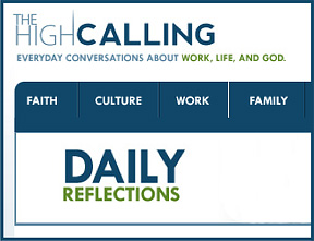 Sunday Inspiration from <em>The High Calling</em>: Can We Find God in the City?