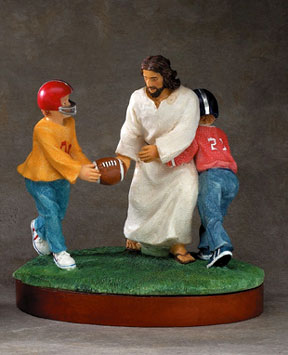 Need I say more? You can purchase this statuette from http://www.catholicshopper.com/.