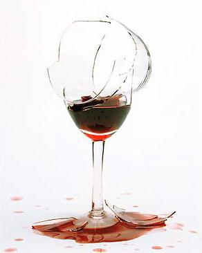 Broken-wine