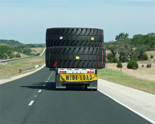 Anybody Need Some Gigantic Tires?