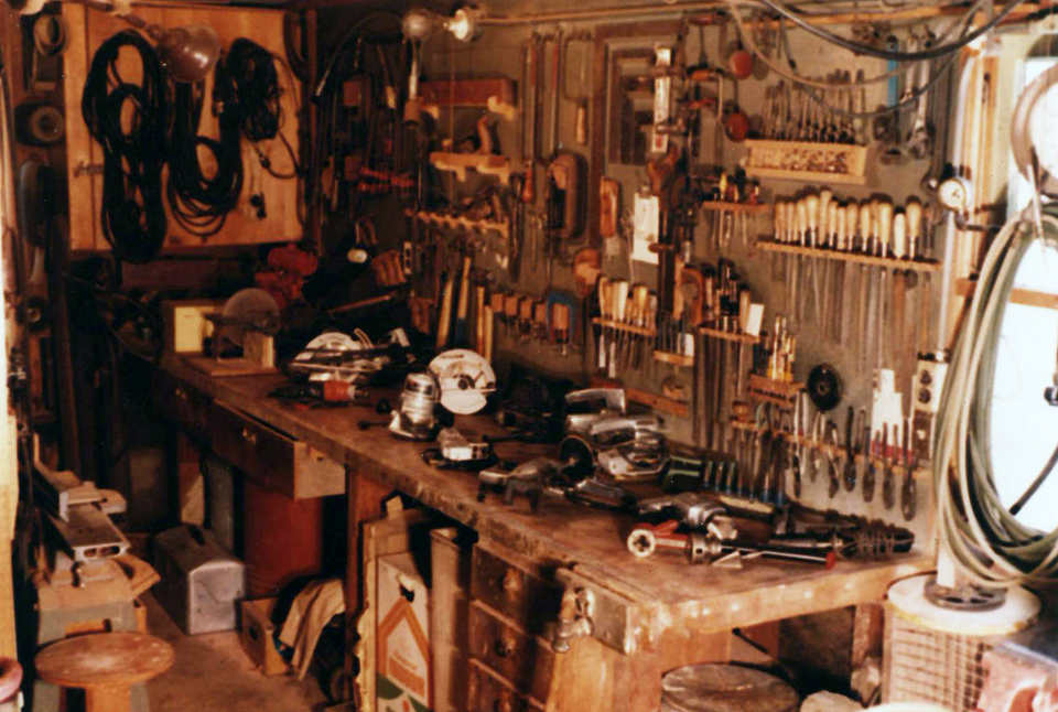 My grandfather's workshop