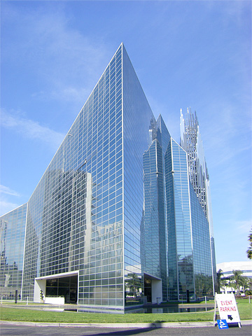 The Crystal Cathedral in Garden Grove, California