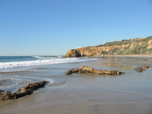 When I lived in California, I frequently walked along the beach at Crystal Cove State Park when I needed to get away and pray.