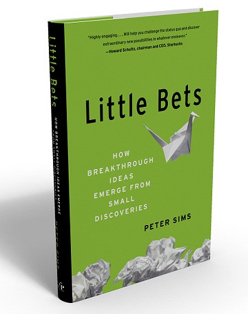 Peter Sims' latest book: Little Bets